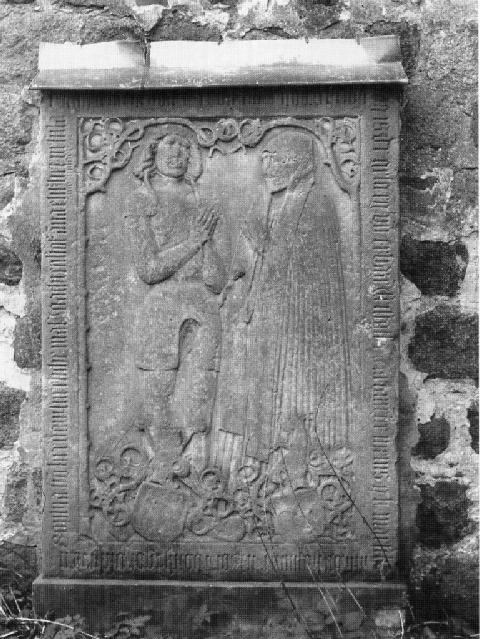 Grabplatte von 1513